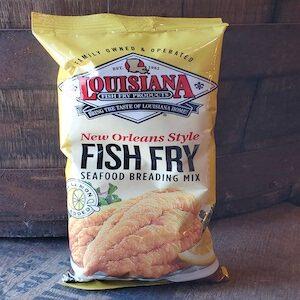 LOUISIANA BREADING, NOLA STYLE FISH FRY