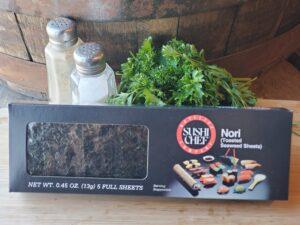 Seafood North Dakota Products Nori Sheets