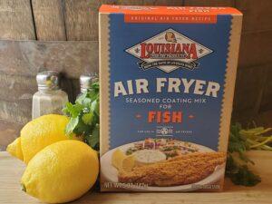 Seafood North Dakota Products Seasoning Fish Air Fryer Breading