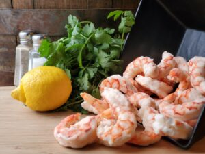 Seafood North Dakota Products Argentine Red Shrimp Cooked