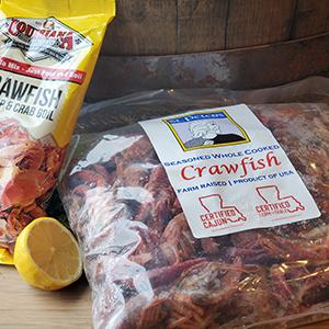 Seafood North Dakota Products Crawfish Whole La
